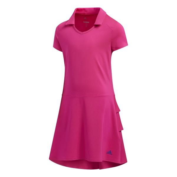 adidas Ruffle Golf Kleid Mädchen pink