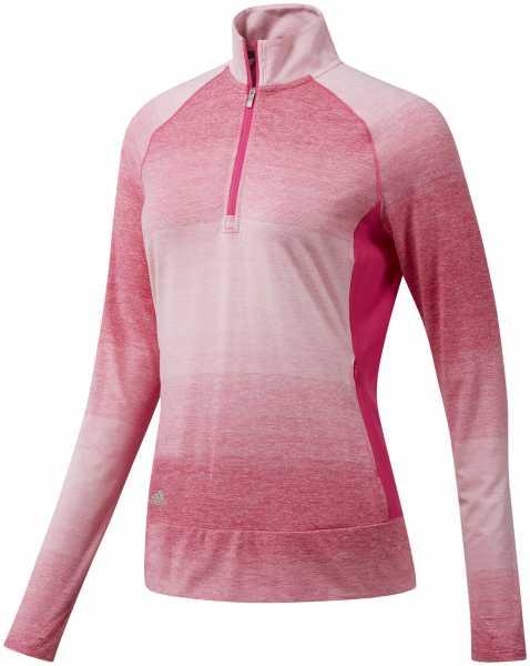 Adidas Range Wear Half-Zip Layer Damen pink