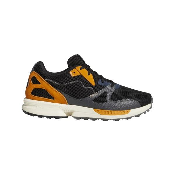 adidas Adicross ZX Primeblue Spikeless Golfschuh Herren schwarz/grau/orange