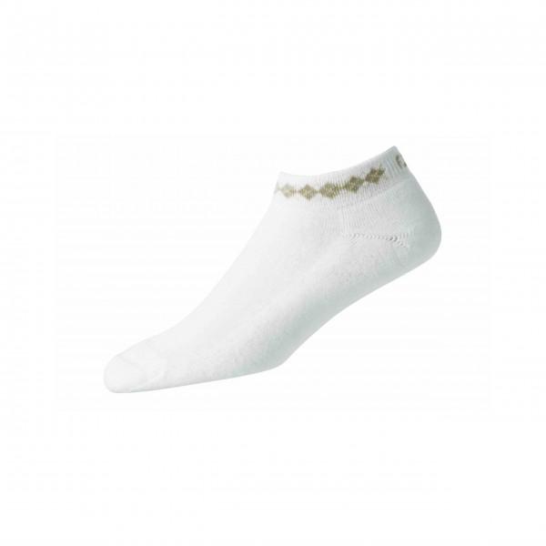 Footjoy ProDry Lightweight Argyle Sportlet Socken Damen