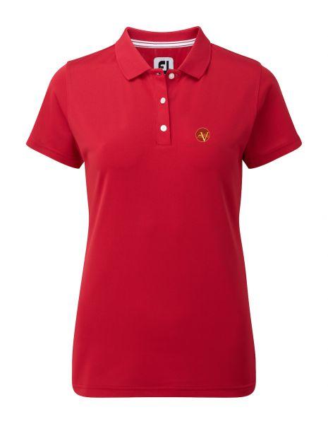Footjoy Pique Polo Damen mit Golf Valley-Logo