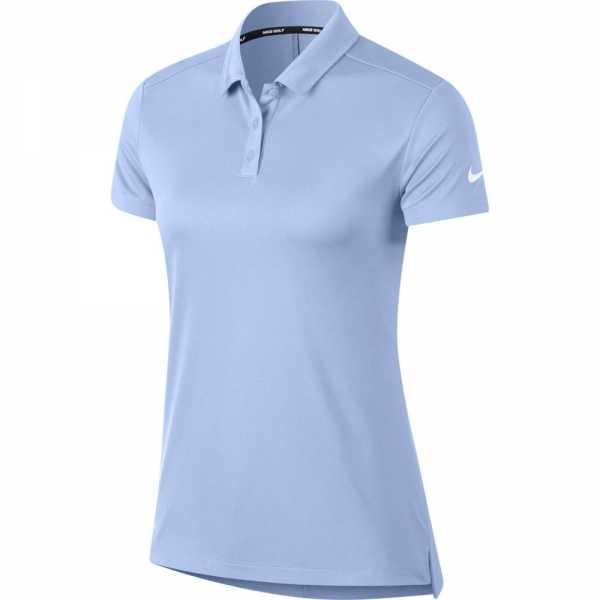 Nike Dry Golf Polo Damen hellblau