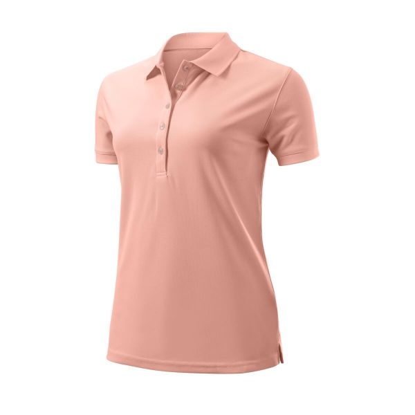 Wilson Staff Authentic Polo Damen pink