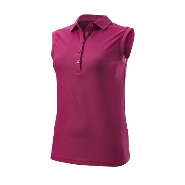 Wilson Staff Authentic Sleeveless Polo Damen lila