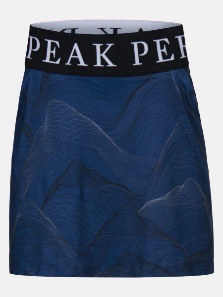 Peak Performance TURF Printed Skort Damen navy