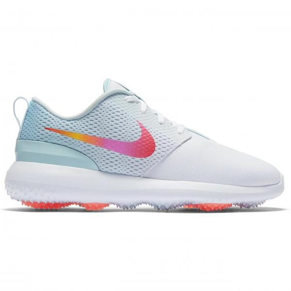 Nike Roshe G Schuh Damen weiß/hellblau/pink