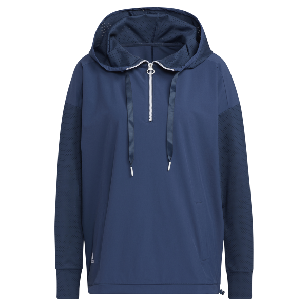 adidas Perforated Hoodie Pullover Damen navy