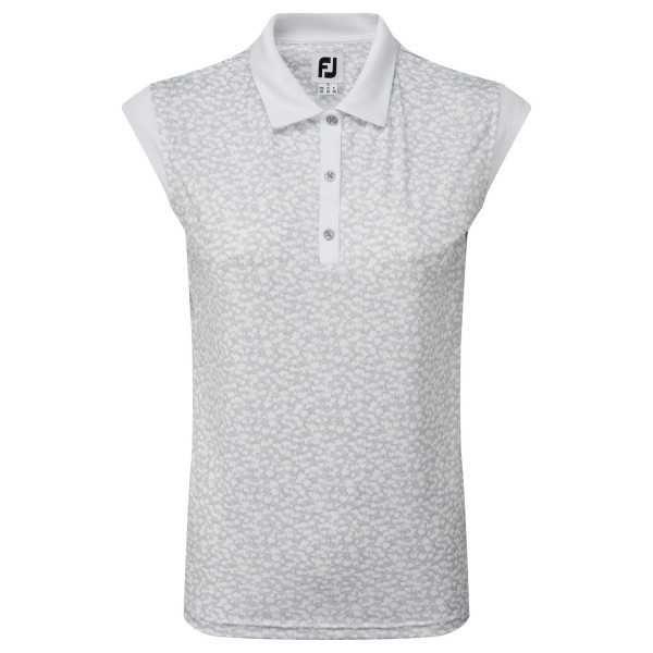 Footjoy Cap Sleeve Interlock Polo Damen