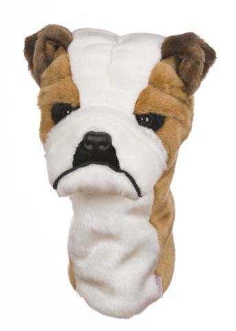 Daphne's Driver- & Fairway Headcover / Schlägerhaube Bulldogge