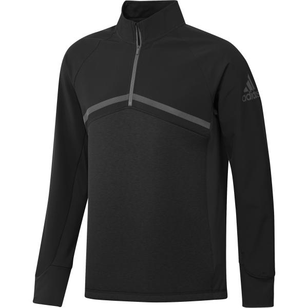 adidas Hybrid 1/4Zip Pullover Herren schwarz