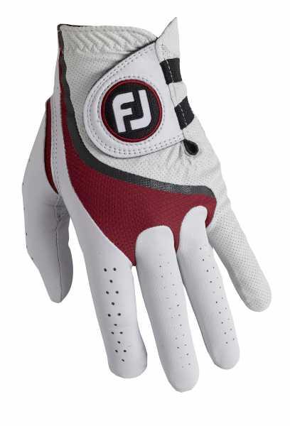 Footjoy Pro FLX Handschuh Herren weiß/rot