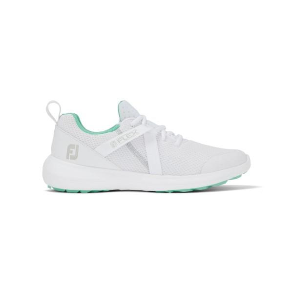Footjoy Flex Golfschuh Damen weiß/grün