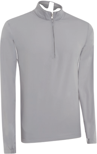 Ashworth Performance Wind Half-Zip Pullover grau