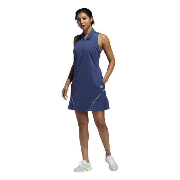 adidas Perforated Color Pop Kleid Damen blau