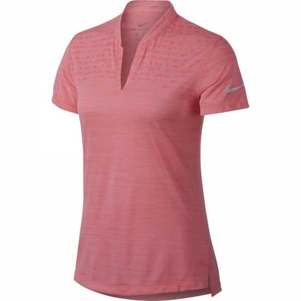 Nike Zonal Cooling Golf Polo Damen lachs