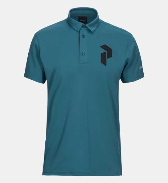 Peak Performance PANMORE Polo Herren blau