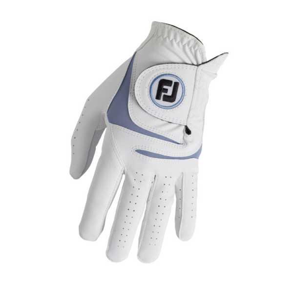 Footjoy Weathersof Handschuh Herren weiß/blau