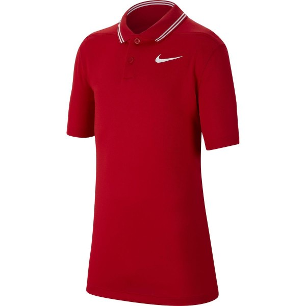 Nike Dri-Fit Victory Polo Jungen rot