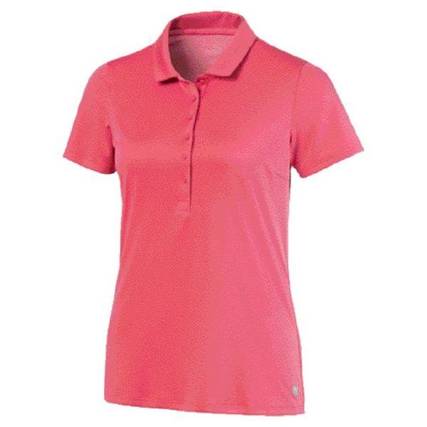 Puma Rotation Polo Damen rosa