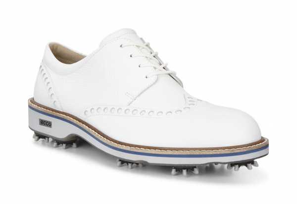 Ecco Golf Lux Schuh Herren weiß