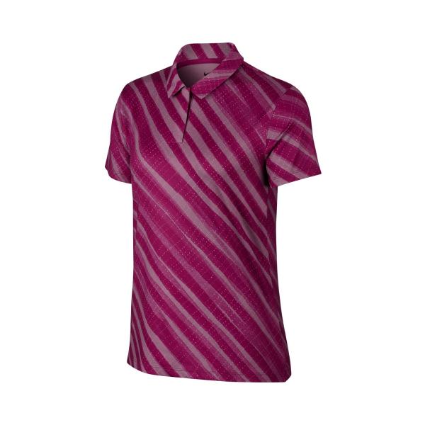 Nike Dri-FIT UV Polo Damen violett