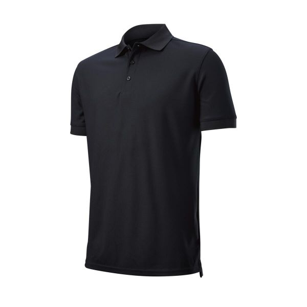 Wilson Staff Authentic Polo Herren schwarz