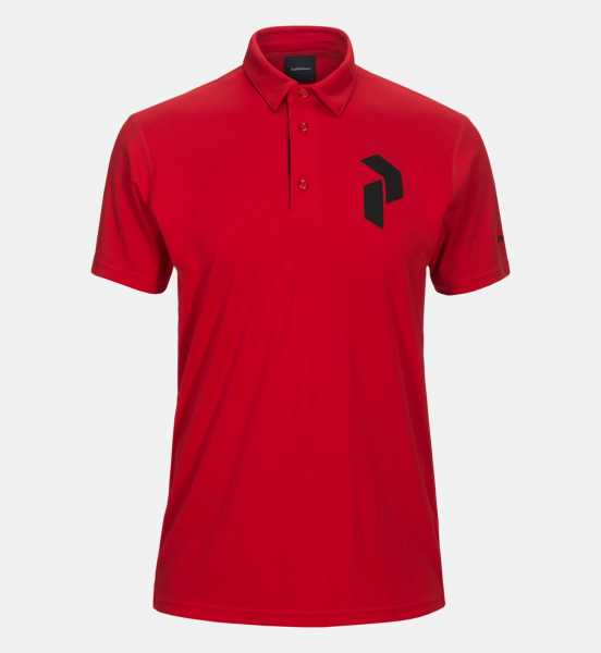 Peak Performance PANMORE Polo Herren rot