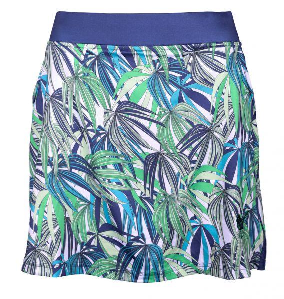 Girls Golf Exotic Jungle Skort Damen grün