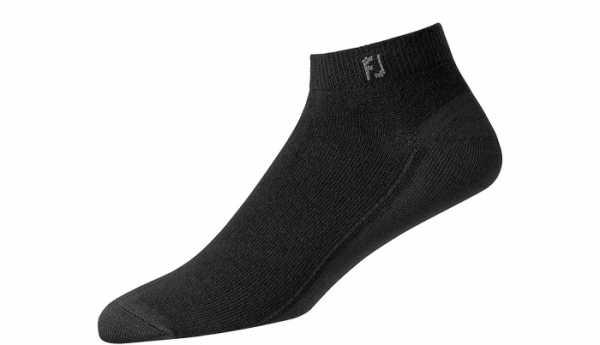 Footjoy ProDry Lightweight Sportsocken Herren schwarz/grau