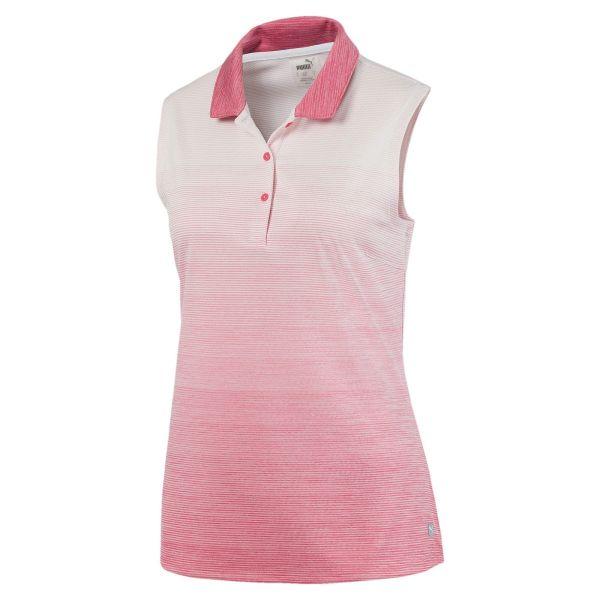 Puma Ombre sleeveless Polo Damen rosa