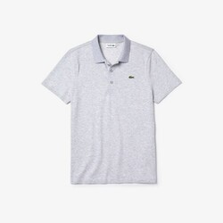 Lacoste Ribbed Collar Baumwoll Polo Herren