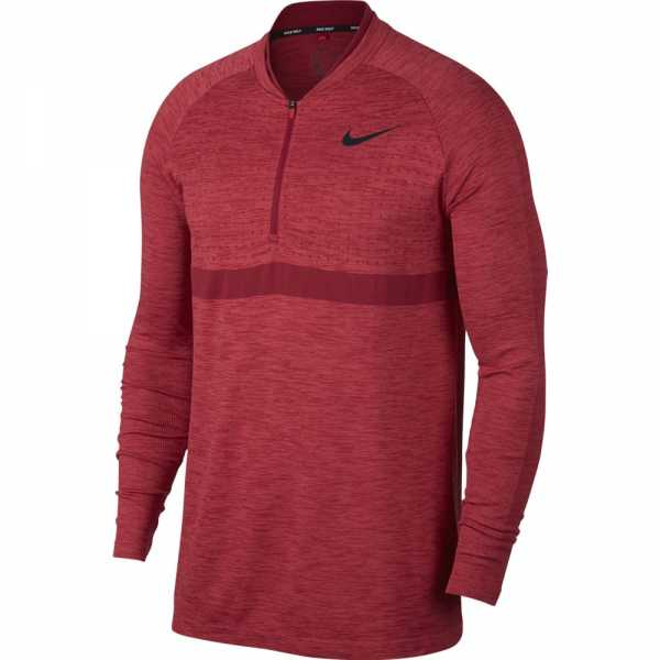 Nike Dry Golf Top Layer Herren rot