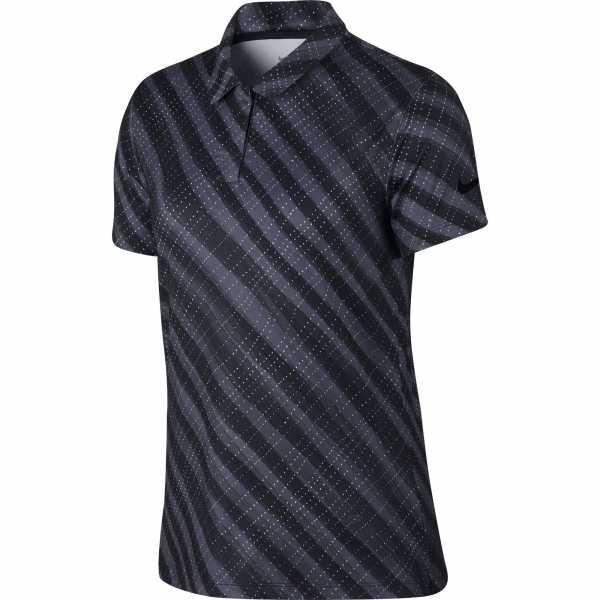 Nike Dri-FIT UV Polo Damen schwarz