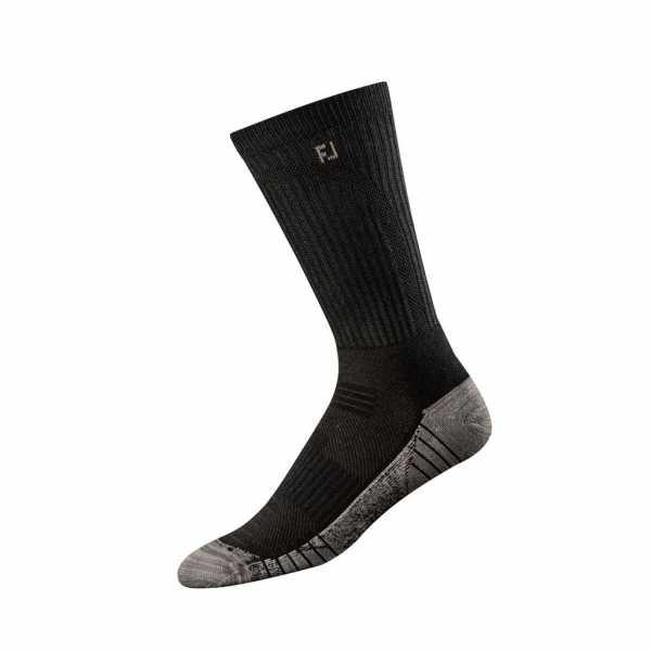 Footjoy TechSof Tour Crew Socken Herren schwarz