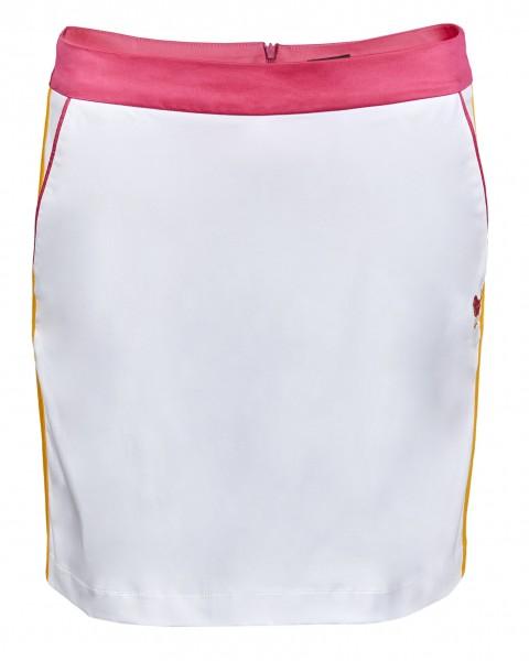 Girls Golf White Pink Swing Skort Damen