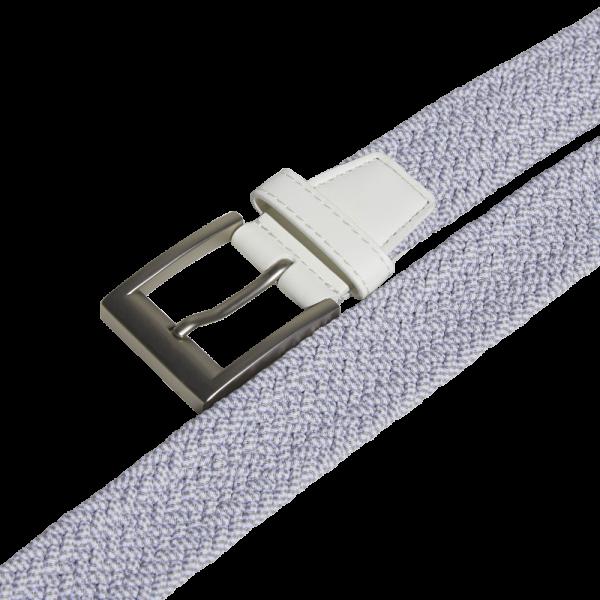 adidas Braided Stretch Gürtel weiß/grau
