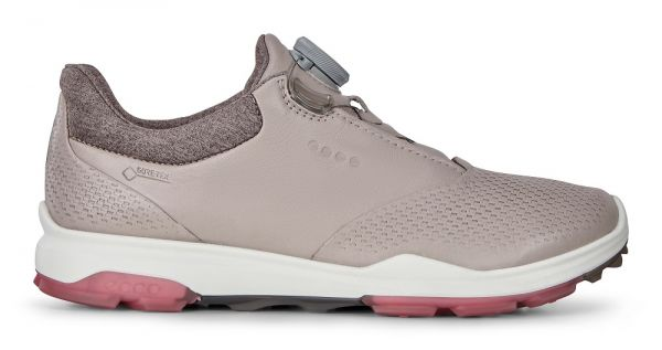 Ecco Golf Biom Hybrid 3 BOA Schuh Damen beige