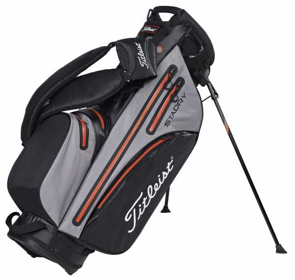 Titleist StaDry Standbag blau/orange/weiß