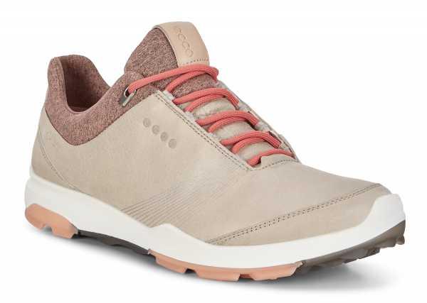 Ecco Biom Hybrid 3 Damen Golfhschuh beige/rot/grün