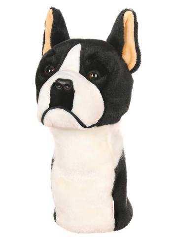 Daphne's Driver- & Fairway Headcover / Schlägerhaube Boston Terrier