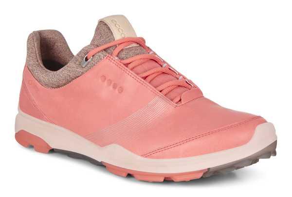 Ecco Biom Hybrid 3 Damen Golfschuh coral