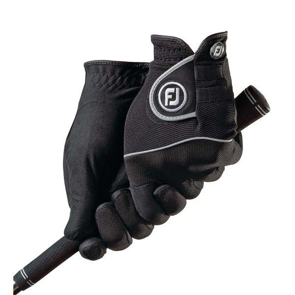 Footjoy Raingrip Golfhandschuh Damen schwarz