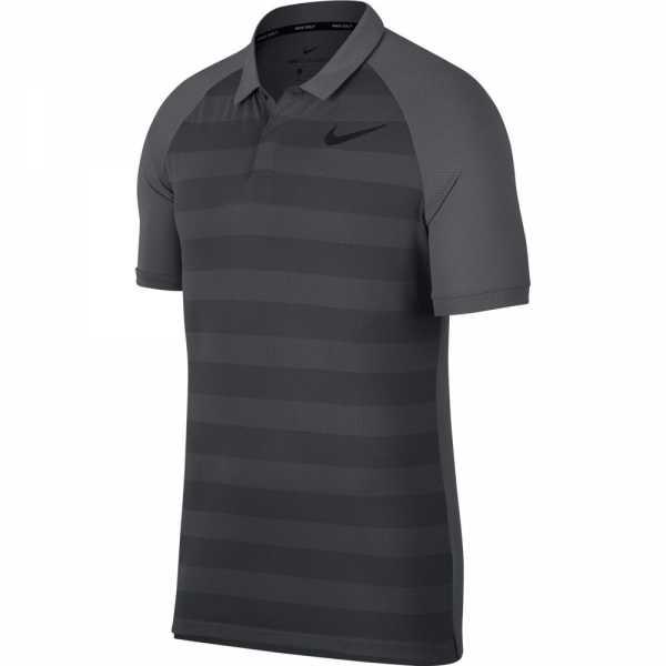 Nike Zonal Cooling Golf Polo Herren grau