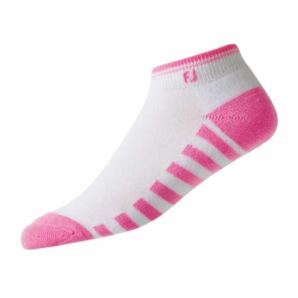 Footjoy ProDry Lightweight Sportsocken Damen weiß/pink