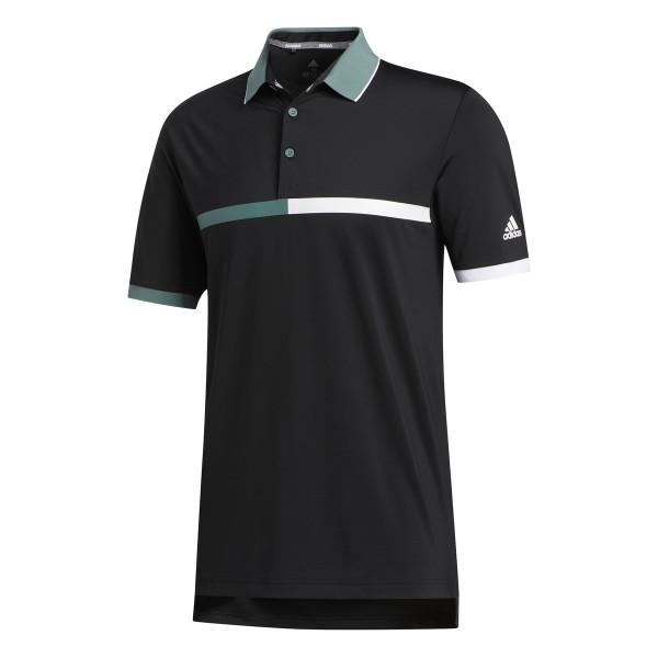 adidas Ultimate365 Stripe Polo Herren scharz/weiß