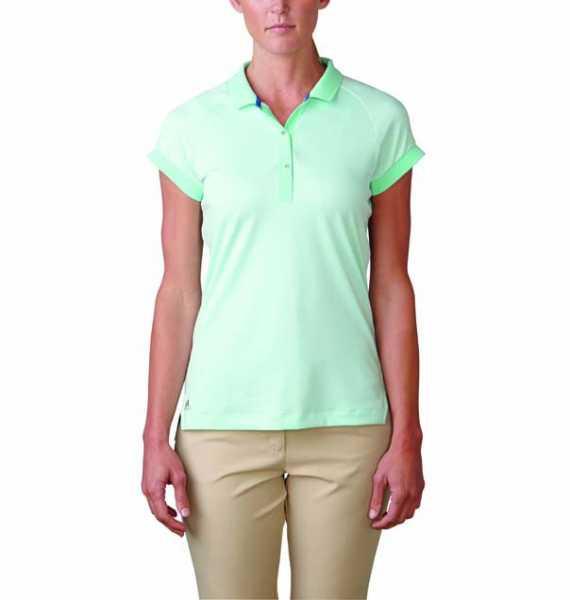 Adidas essentials pique Damenpolo mintgrün