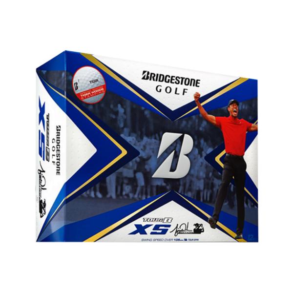 Bridgestone Tour B XS Tiger Golfbälle 12Stk.