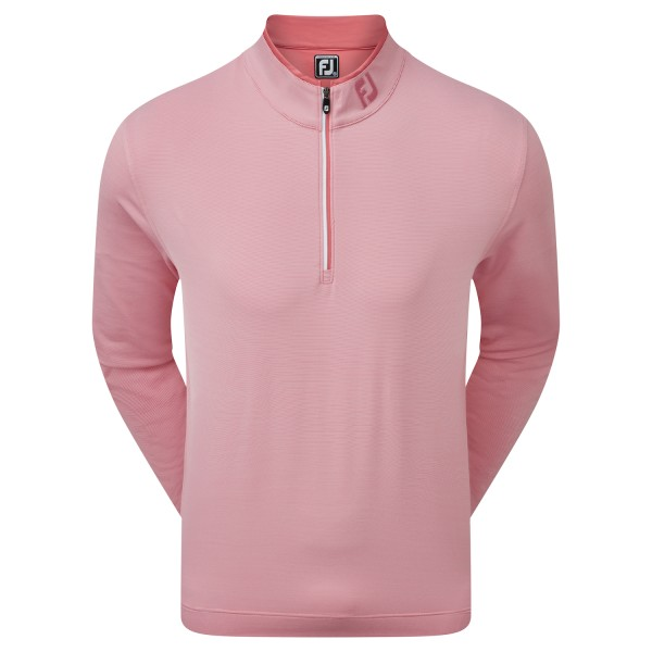 Footjoy Lightweight Microstripe Chill-Out Pullover Herren rot