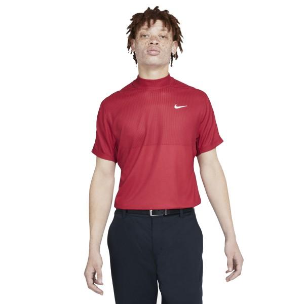 Nike Dri-FIT Tiger Woods Kurzarm-Golfshirt mit Stehkragen Herren