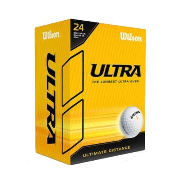 Wilson Ultra Distance Bälle weiss 24er Pack